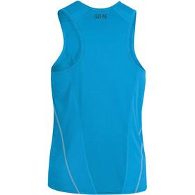 GORE WEAR R5 Koszulka do biegania bez rękawów Mężczyźni niebieski